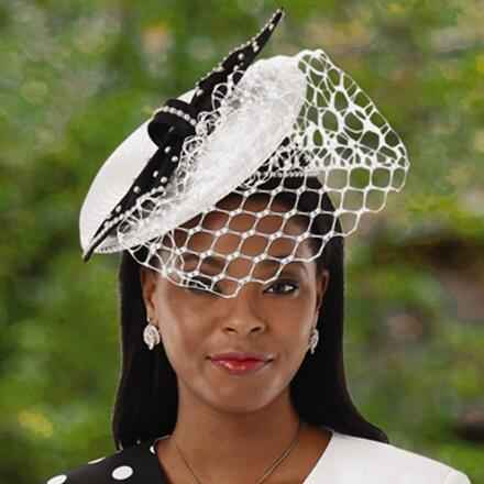 Designer Dots Fascinator by EY Signature