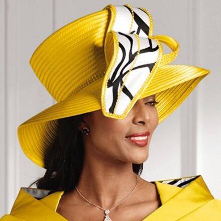 Imaginative Lines Church Hat by EY Boutique