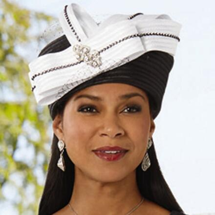 Double the Elegance Church Hat by Dorinda Clark-Cole
