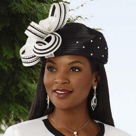 Points of Perfection Church Hat by EY Boutique