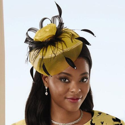 Floral Impression Fascinator by EY Signature