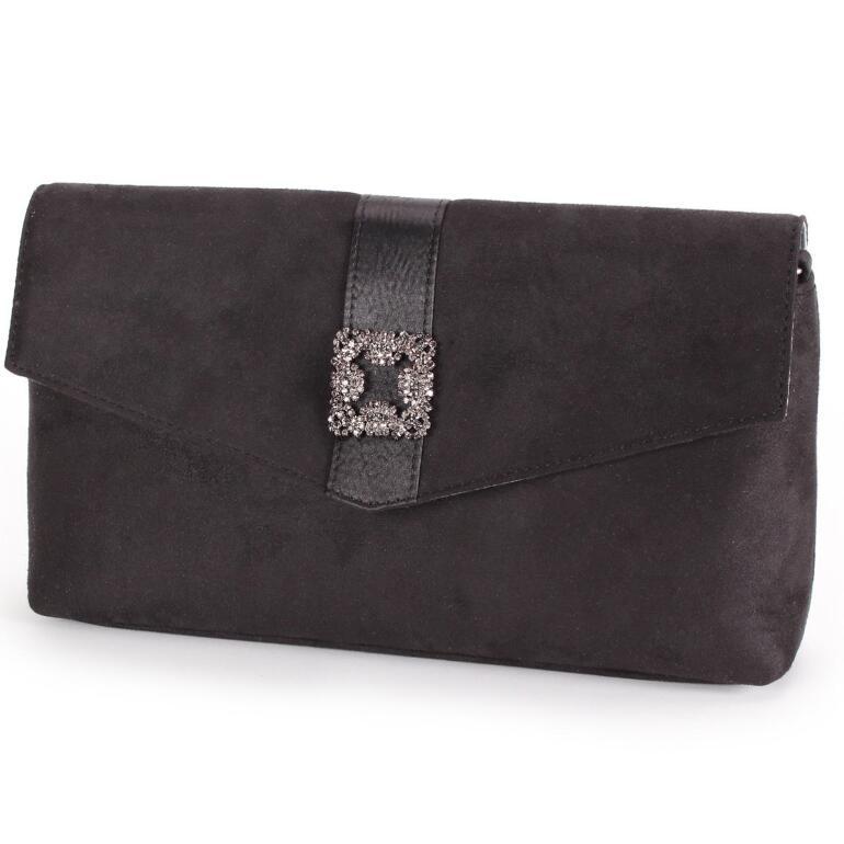 Glitzy Buckle Handbag by EY Boutique