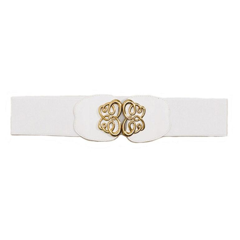 Gold Scrolls Belt by MBT Design