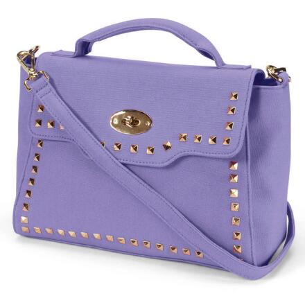 Studs 'n' Straps Satchel by EY Boutique
