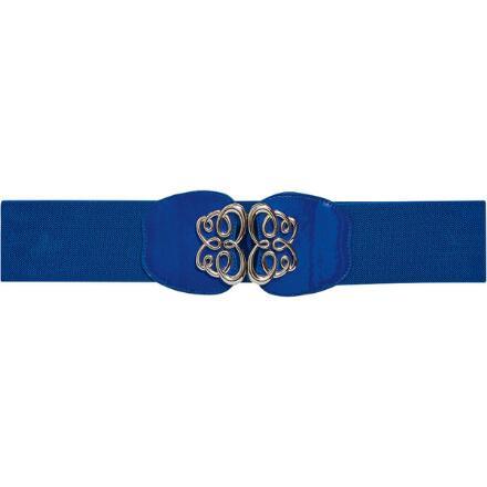Silver Scrolls Belt by MBT Design
