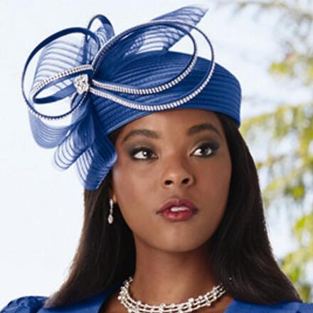 A Flair for Laserwork Hat by Dorinda Clark-Cole