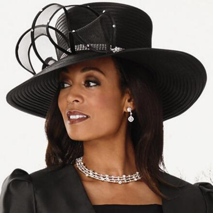 Flutters of Ruffles Church Hat by EY Signature