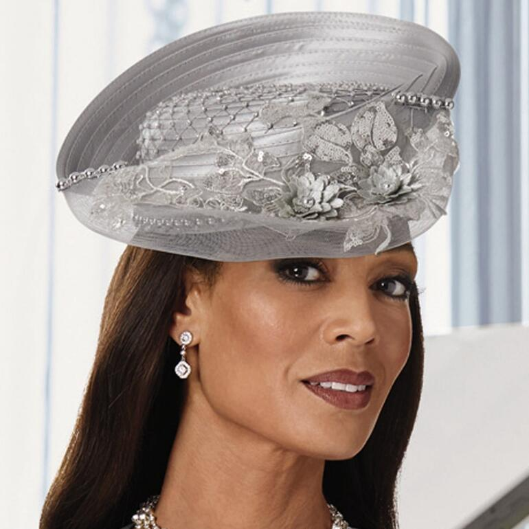 Lattice Reflections Church Hat by LUXE