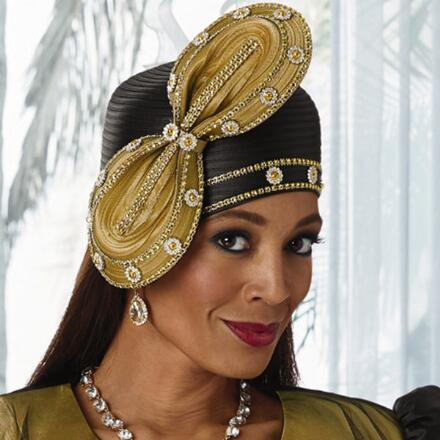 Overlay of Elegance Hat by LUXE