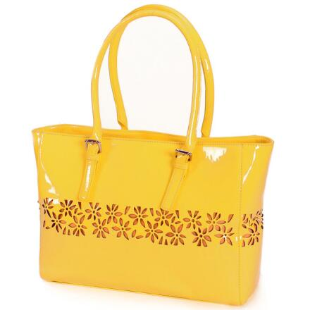 Laser-Lace Tote by EY Boutique