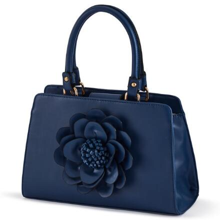 Petals That Pop Handbag by EY Boutique