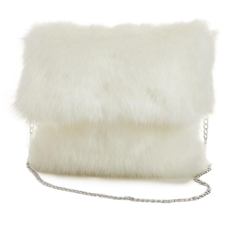 Faux-Fur Bag by EY Boutique