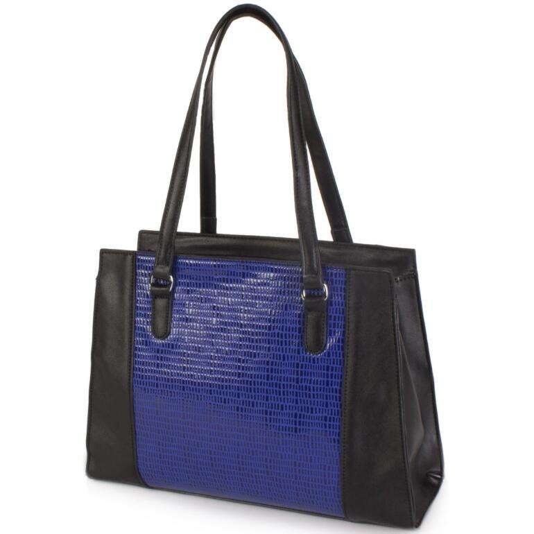 Two-Tone Tote by EY Boutique