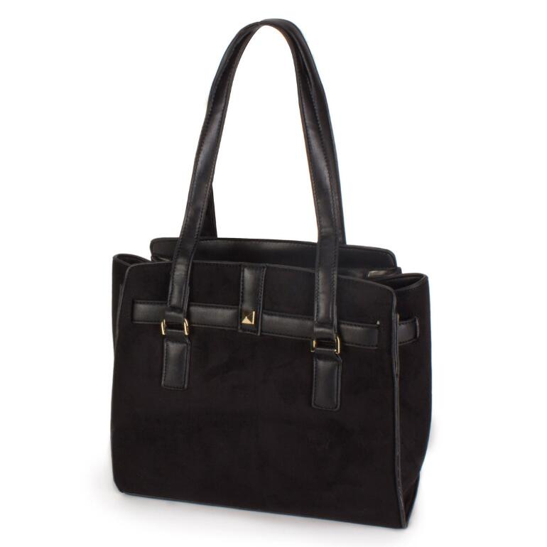 Fabulous Sueded Tote by EY Boutique