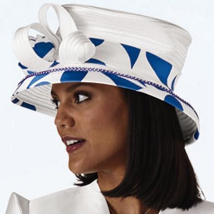 Dramatic Curves Church Hat by Dorinda Clark-Cole