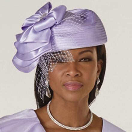 Side of Ruffles Church Hat by LUXE