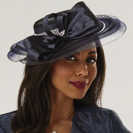 In the Top Tier Church Hat by LUXE