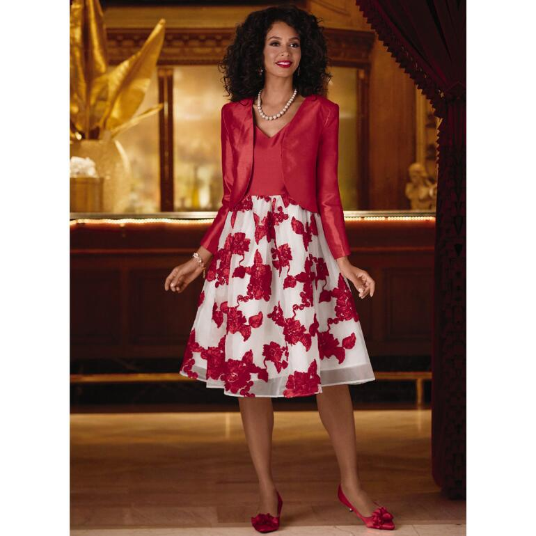 Soutache in Bloom Jacket Dress by EY Boutique