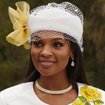 Blooms Church Hat by EY Boutique