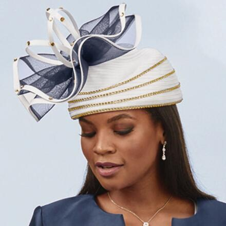 Modern Style Church Hat by EY Boutique