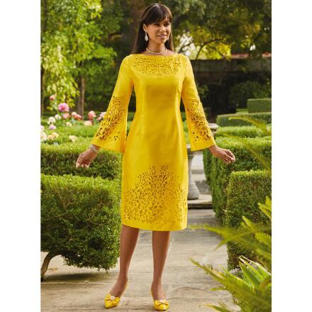 Laser Design Dress by EY Boutique