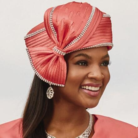 Captivating Cutout Church Hat by Dorinda Clark-Cole