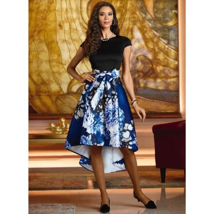 Blue Blooms Dress by EY Boutique