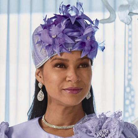 Beauty of Lace Church Hat by LUXE