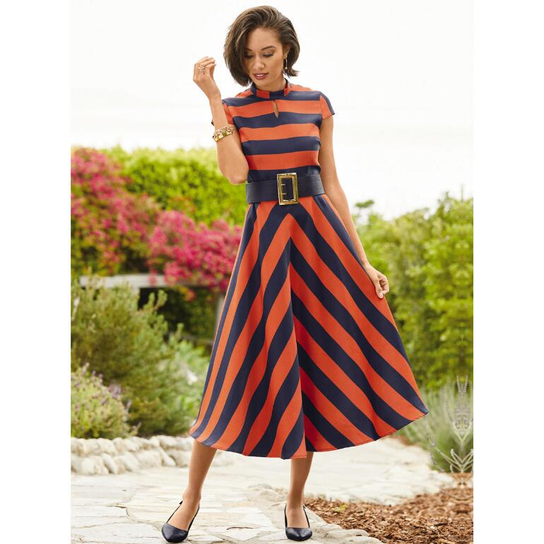 A Different Stripe Dress by EY Boutique