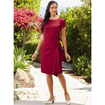 Fabulous Folds Dress by EY Boutique