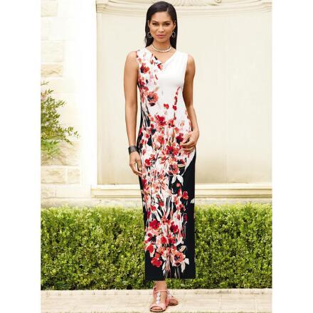 Beau Blossoms Maxi Dress by EY Boutique