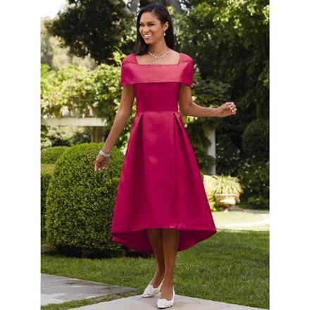 Dazzling Drop-Shoulder Dress by EY Boutique