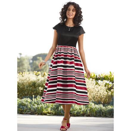 Smart Striped Dress by EY Boutique