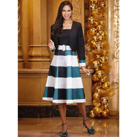 Diamond Essence Jacket Dress by EY Boutique