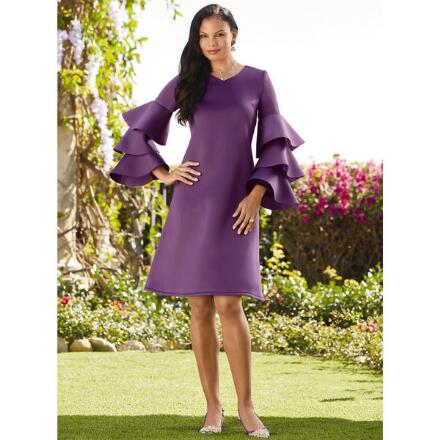 Big on Tiers Knit Dress by EY Boutique