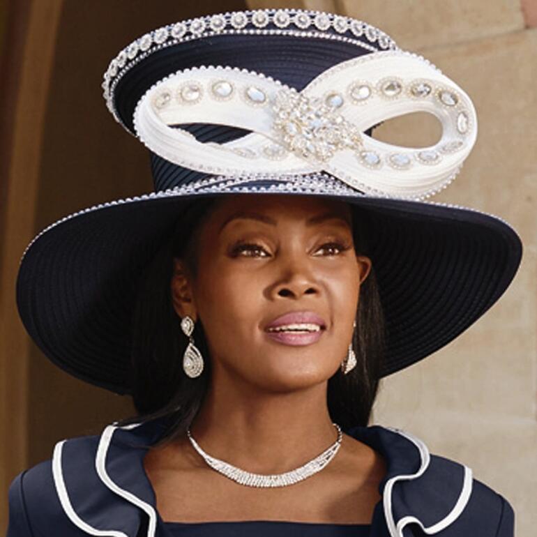 Fashion Church Hat by Lisa Rene Black Label