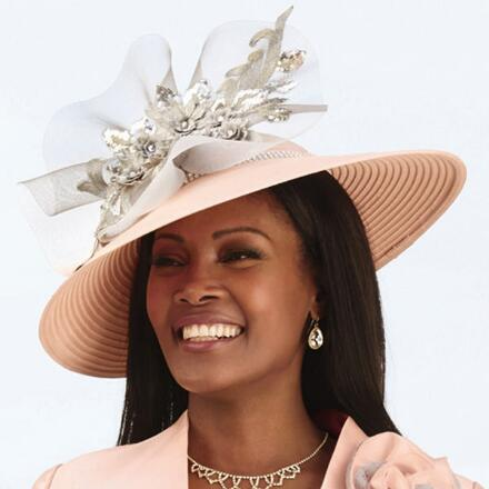 Delicacy of Lace Church Hat by EY Boutique
