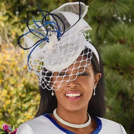 Pretty as Spring Fascinator by EY Signature