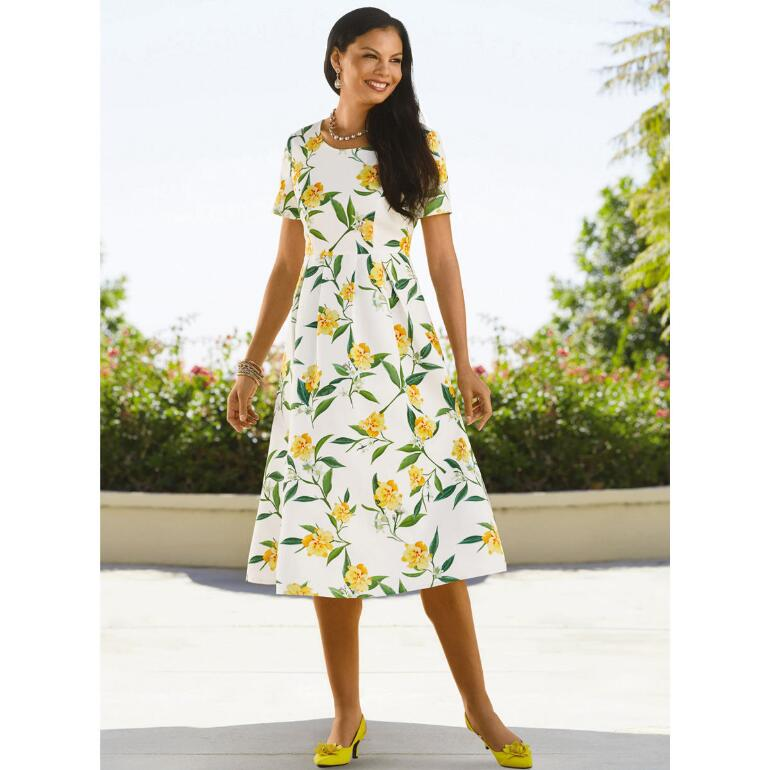 Spring Floral Dress by EY Boutique