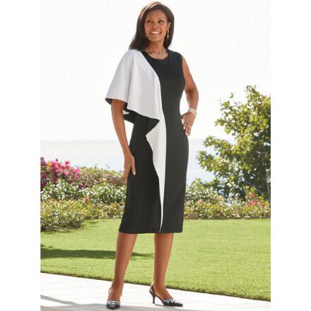 Bold Fold Knit Dress by EY Boutique