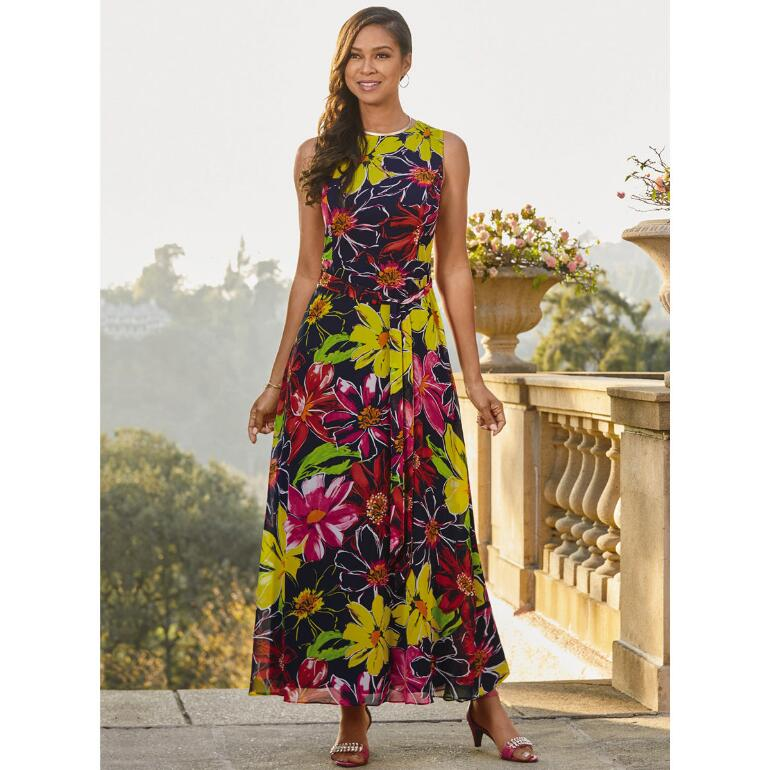 Flower Power Maxi Dress by EY Boutique