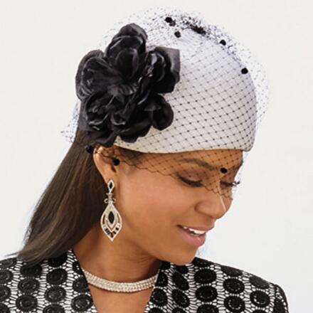 In Contrast Church Hat by EY Boutique