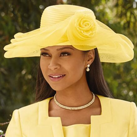 Lovely Church Hat by EY Signature