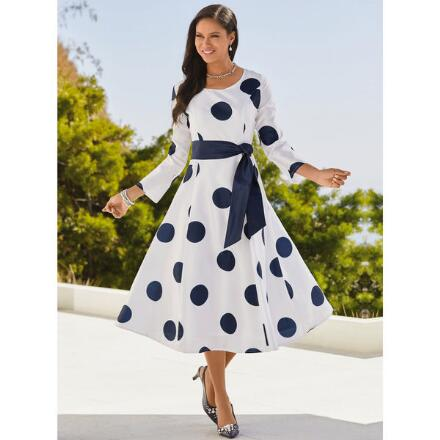Floating Dots Dress by EY Boutique