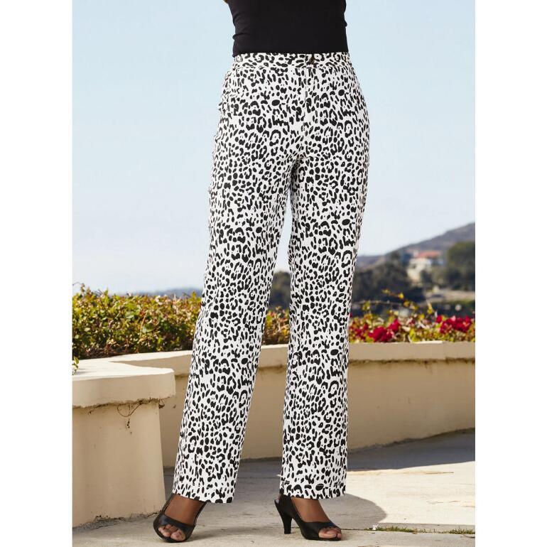 Leopard-Print Pants by Studio EY