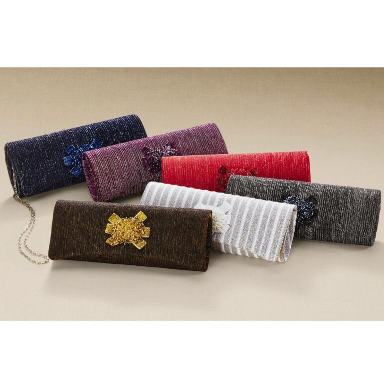 Beaded Cluster Handbag by John Fashion™