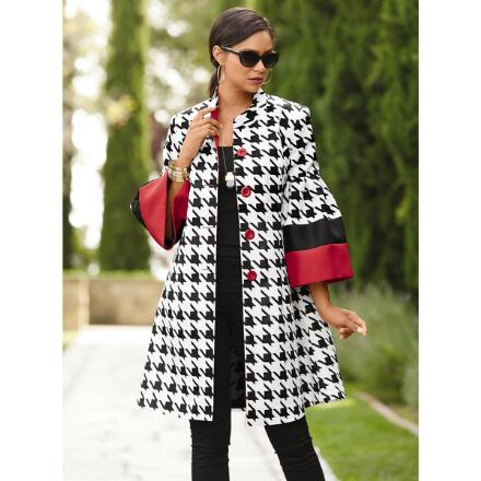 Big On Houndstooth Jacket by Studio EY