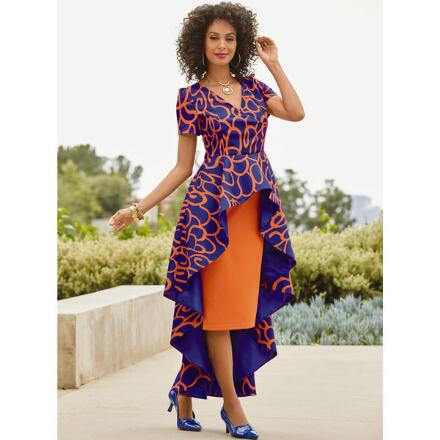 Shakara's High-Low Dress by Studio EY
