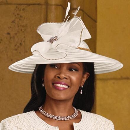 Lady in Lace Church Hat by LUXE