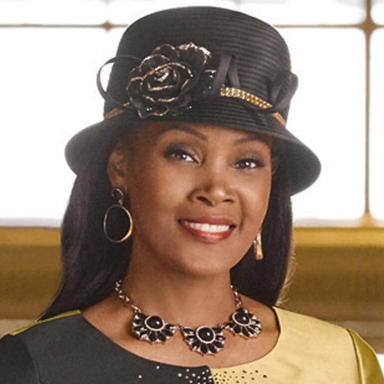 Glitz and Glam Church Hat by EY Boutique
